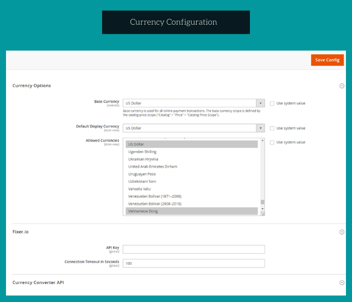magento 2 zalopay payment currency configuration