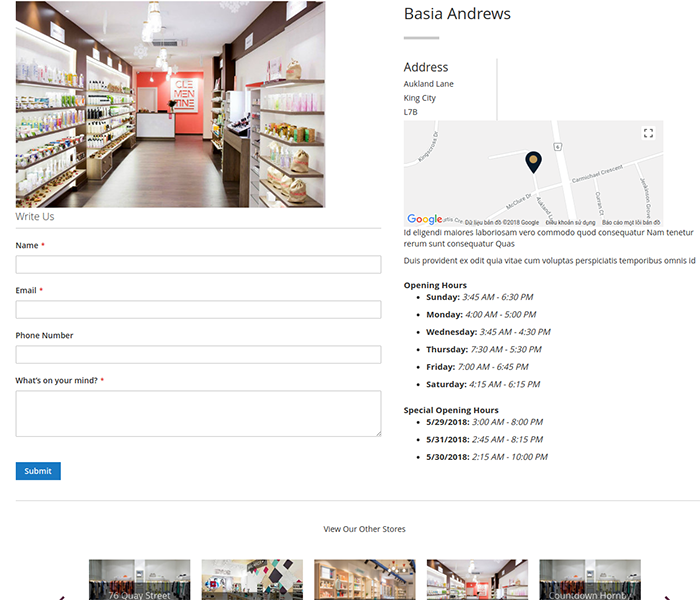 Best Magento 2 Store Pickup With Store Locator Module 2019