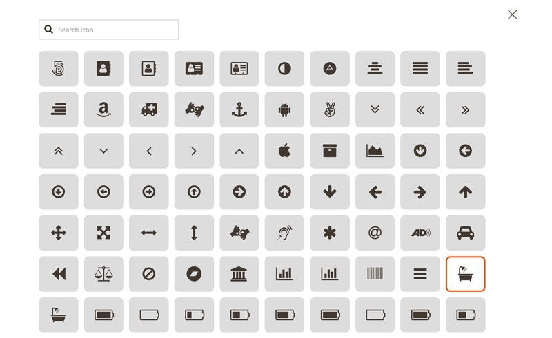 786 icons included by Font Awesome