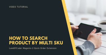 how to search product by multi sku