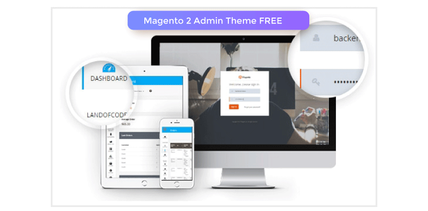Magento 2 Admin Theme Extension FREE