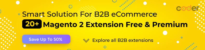 Magento 2 B2B Extensions