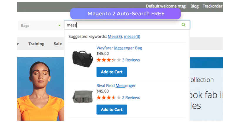 Magento 2 Auto Search Extension FREE