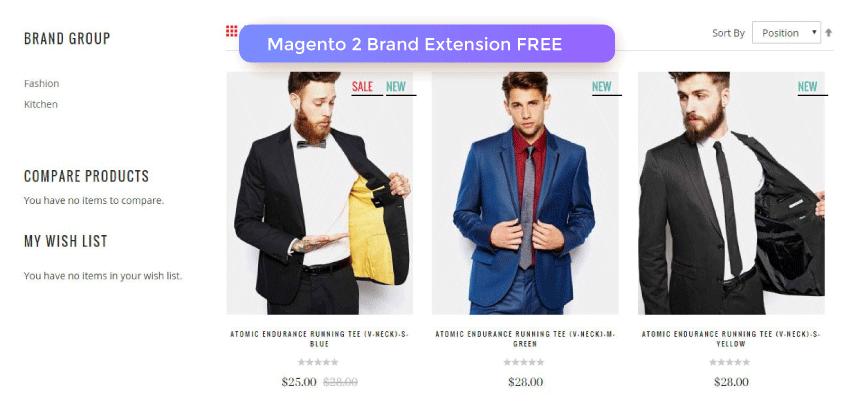 Magento 2 Brand Extension FREE