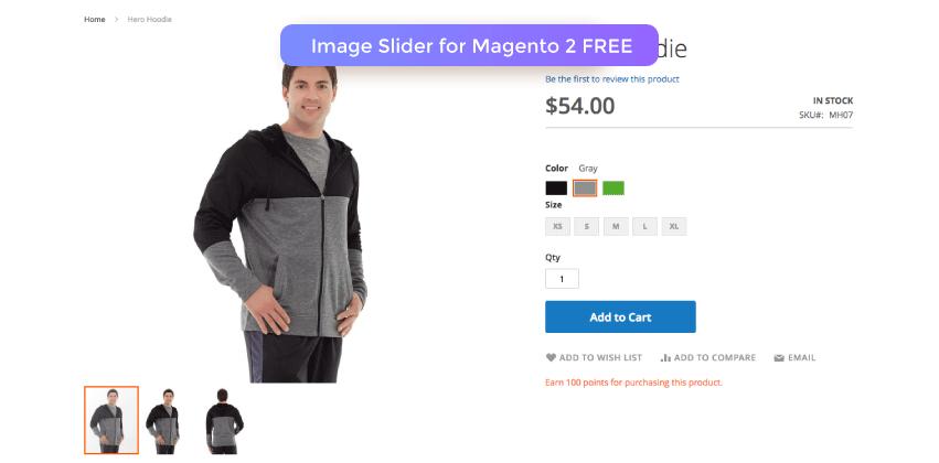 Magento 2 Image Slider FREE
