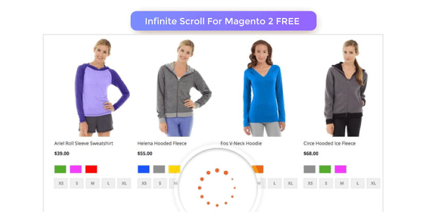 Magento 2 Infinite Scroll Extension FREE