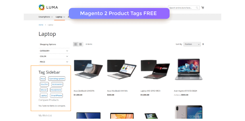 Magento 2 Product Tags Extension FREE