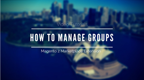 How to Manage Groups