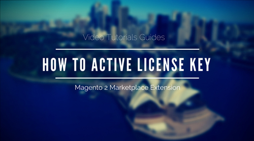 How to Active License Key Magento 2 Marketplace Extension