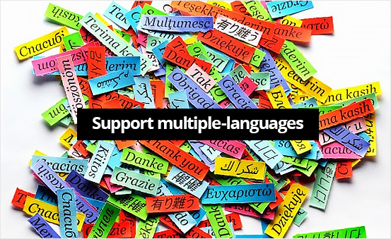 Support multiple-languages