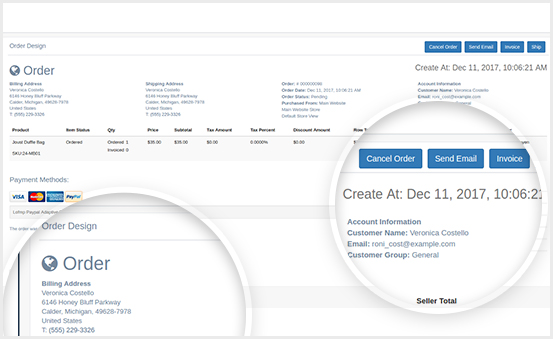 Create Split Order & Auto Generate Invoice & Shipment