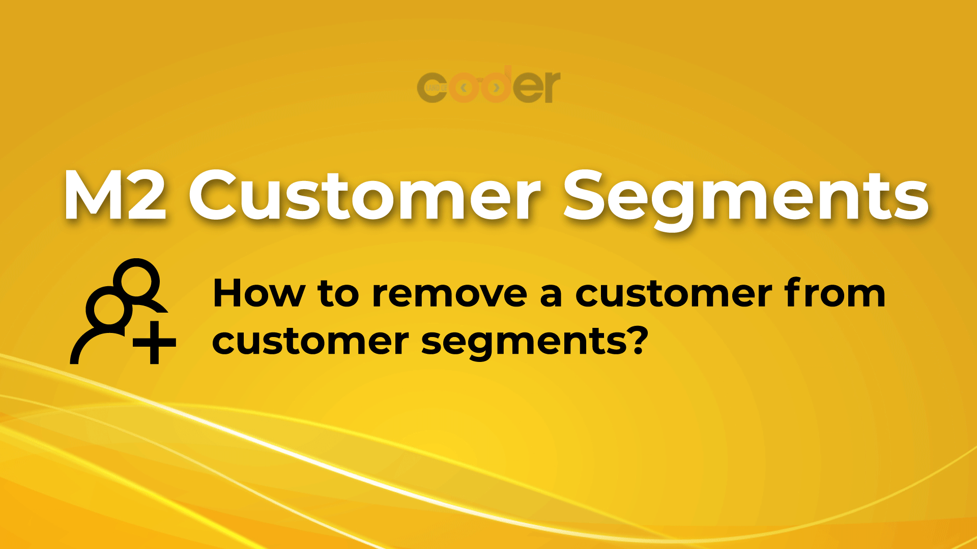 How To remove a customer from customer segmentation