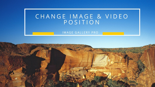 How To Change Image & Video Position With Ease