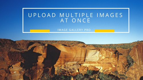 Magento 2 Image Gallery PRO: Upload Multiple Images At Once