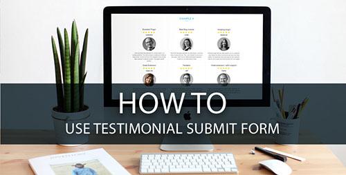 use testimonial forms
