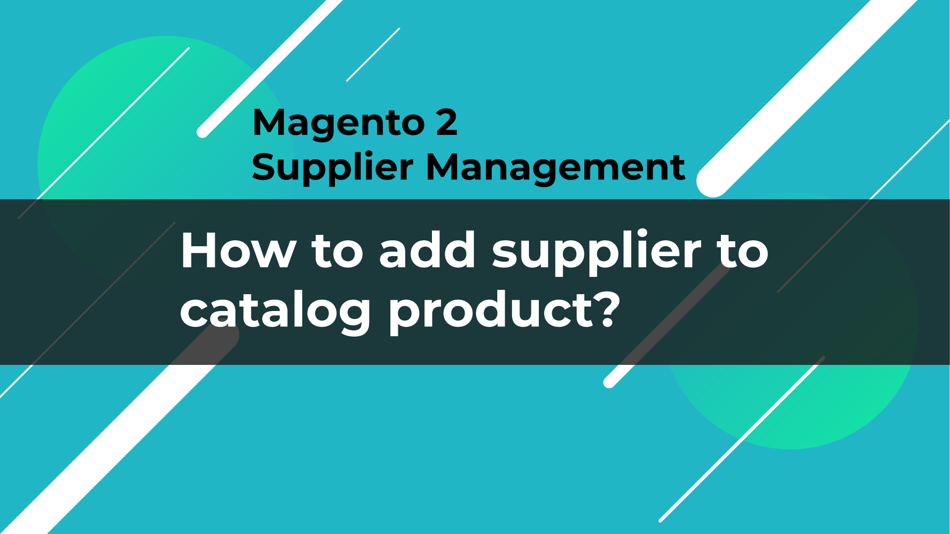 assign specific product to suppliers
