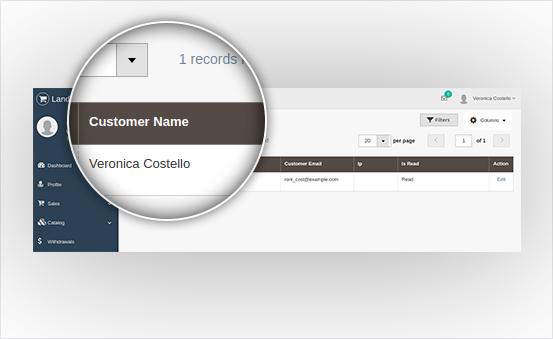 Auto Record Customer Information