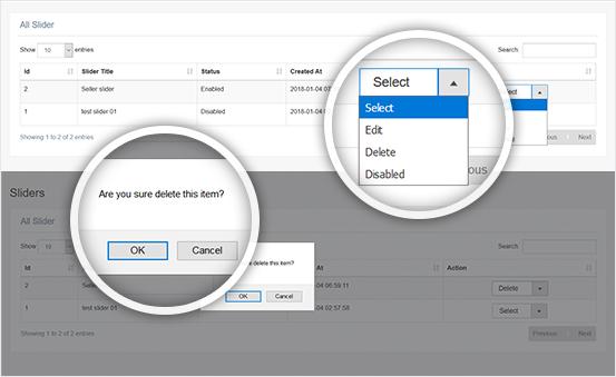 Delete/Edit/Disable Any Slider Instantly