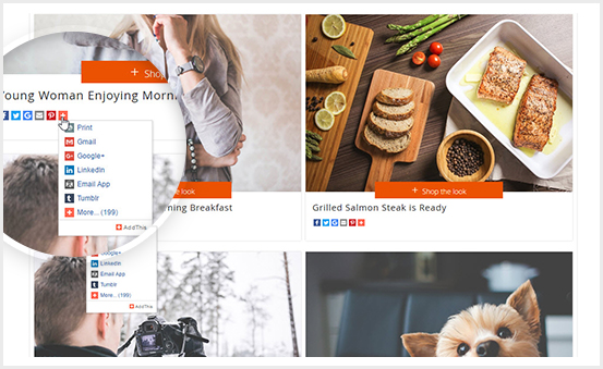 Magento 2 Image Gallery PRO Extension - Sharing Photo Easily