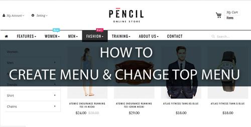 create-simple-menu