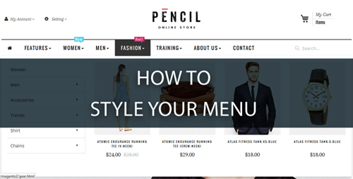 how-to-style-your-menu-without-editing css-file