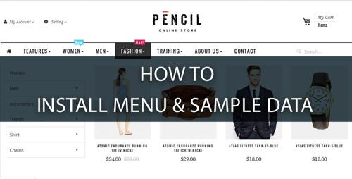 install-menu