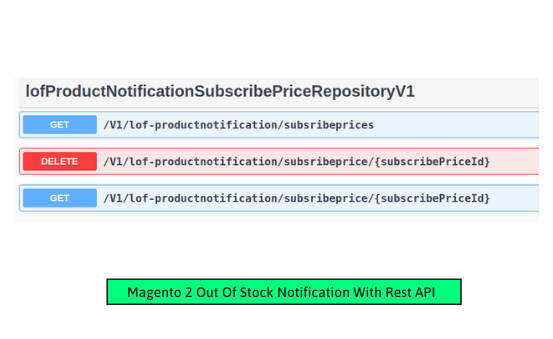 Magento 2 product notification manage subscribe price