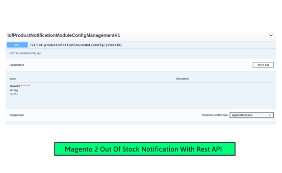 Magento 2 product notification manage config data