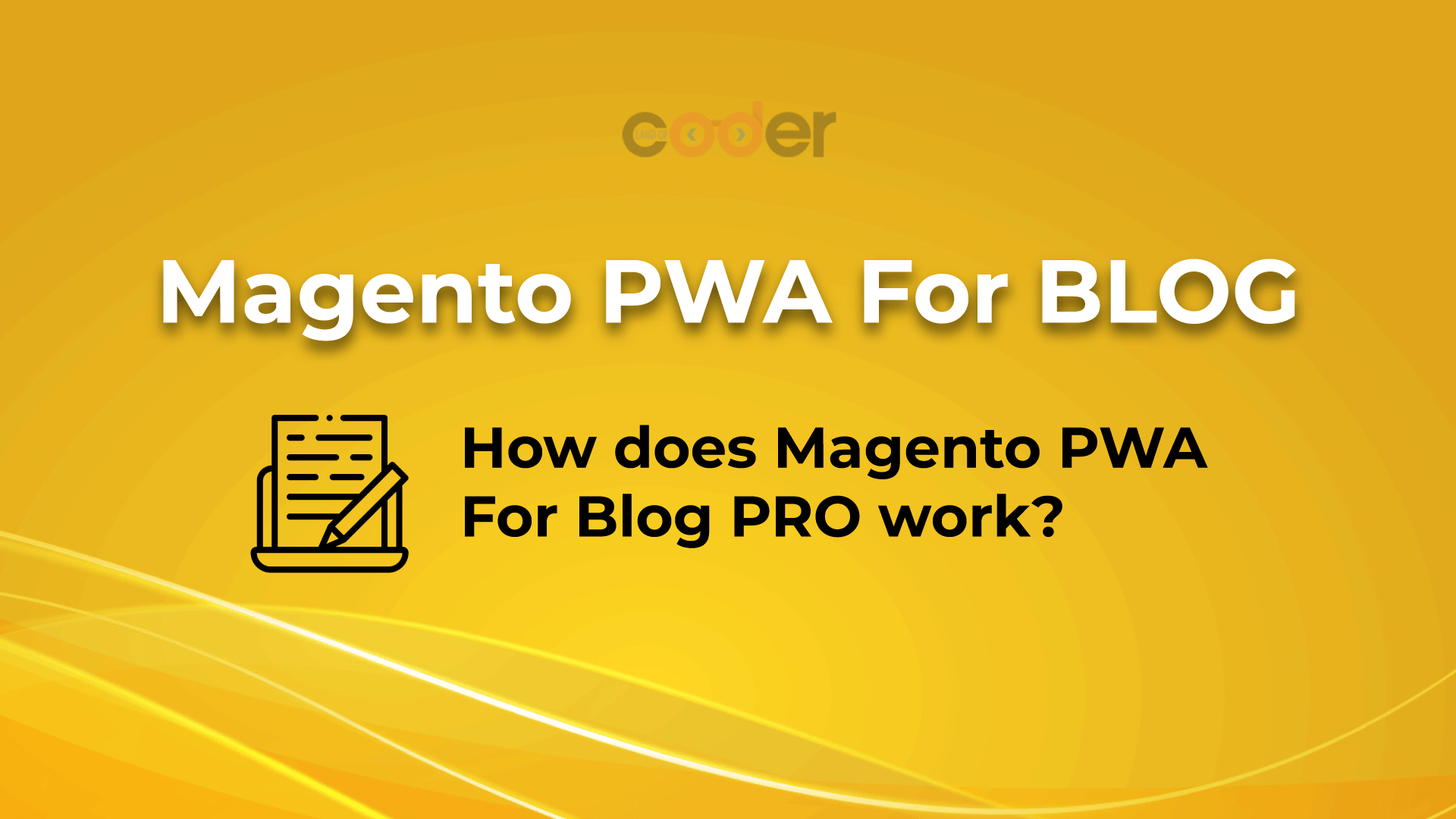 magento pwa for blog