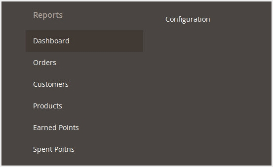 Magento 2 reward points Report Plugin