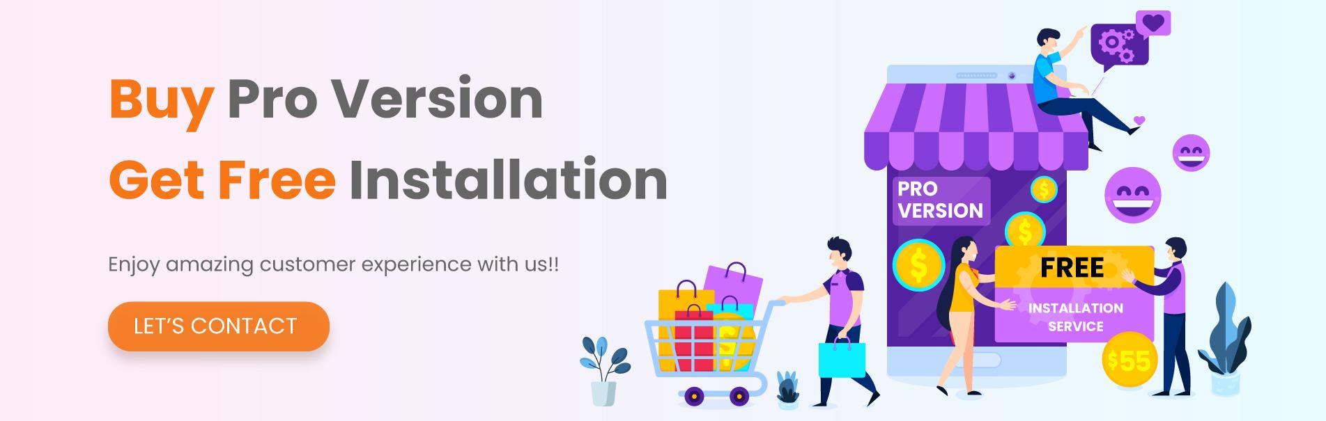 Get Free Installation