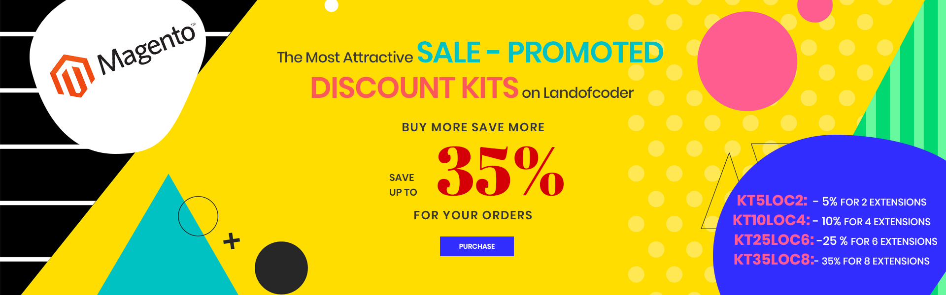 Discount 30 percent for magento 2 extensions
