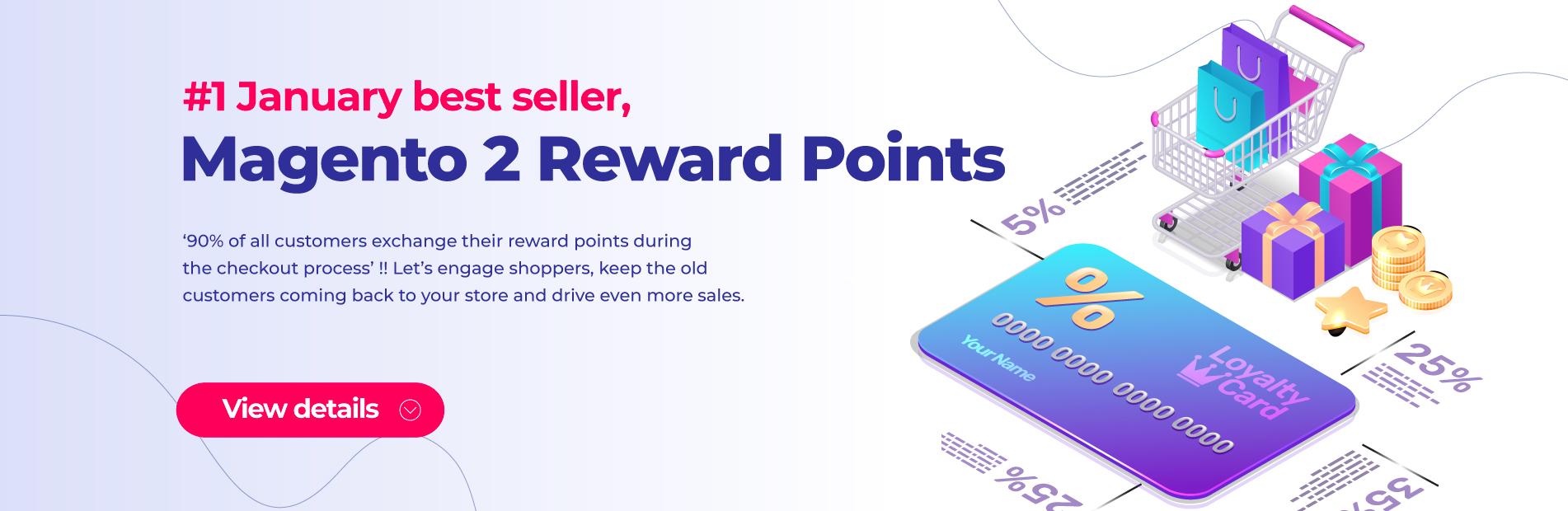 Magento 2 Reward Points extension Bestseller