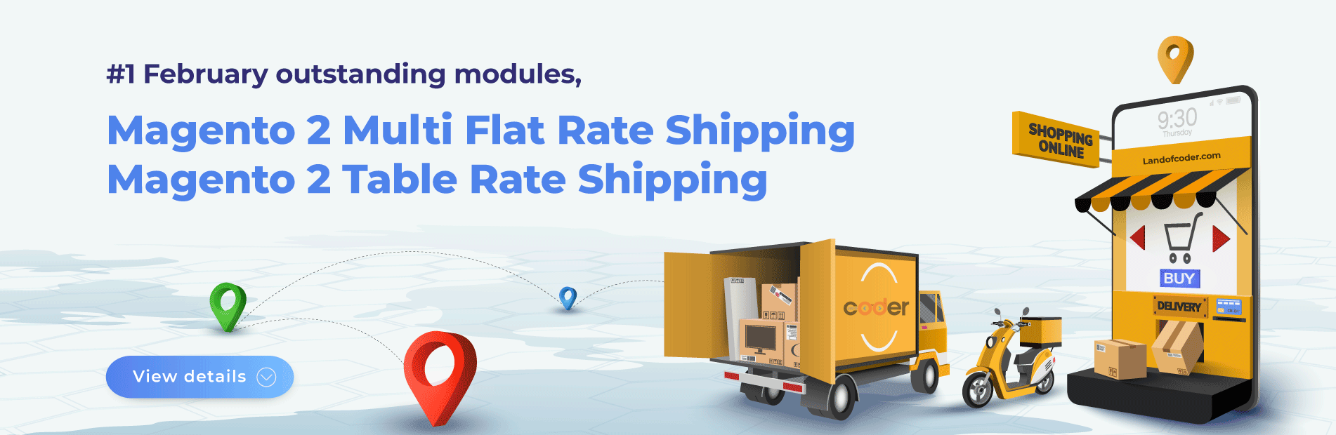 Magento 2 Multi Flat Rate Shipping Extension