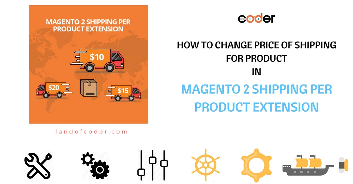 How to change price of shipping for product in M2 Shipping Per Product