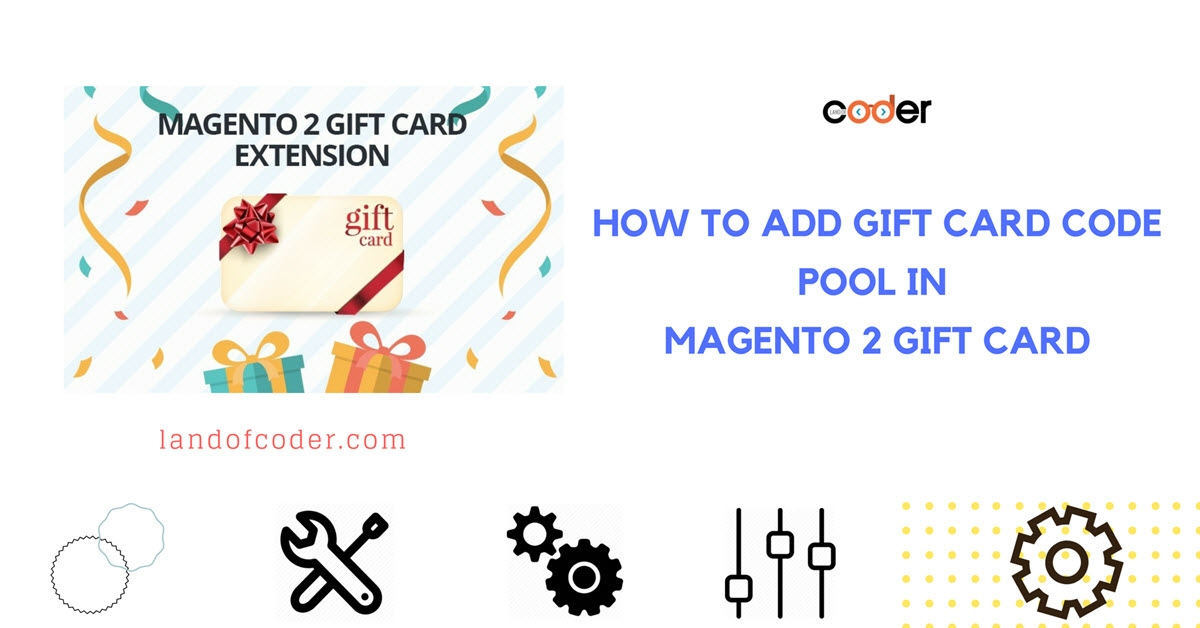 How to add gift card code pool in Magento 2 Gift Card