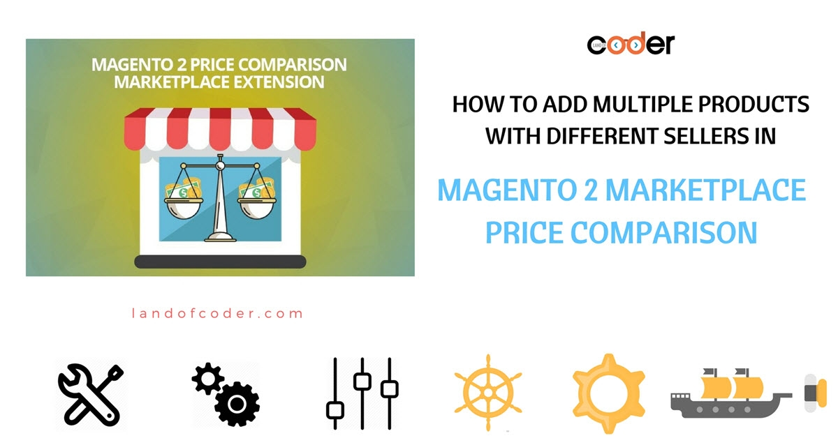 How to add multiple product with different sellers in M2 Marketplace Price Comparison