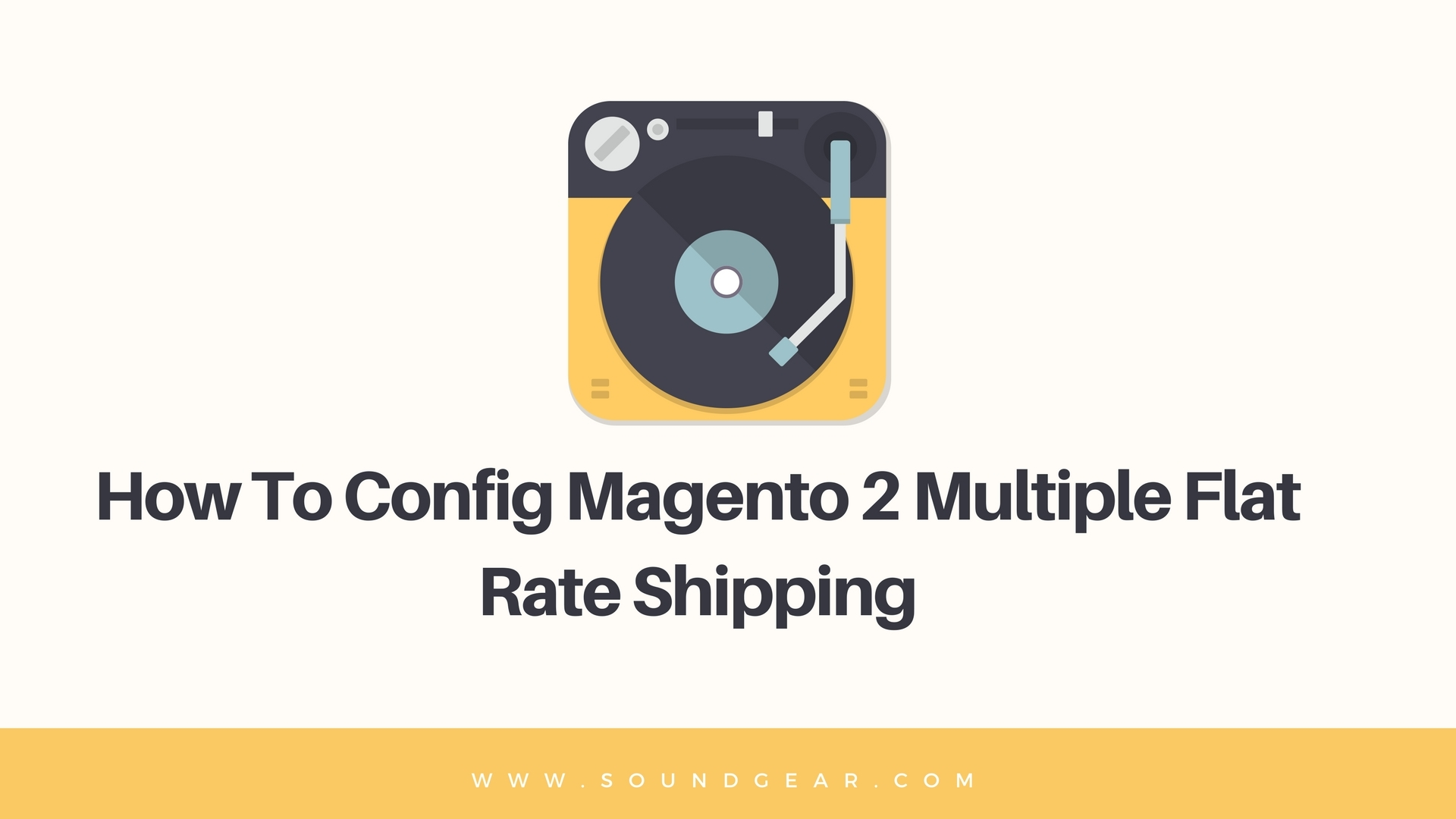 Config Magento 2 Multiple Flat Rate Shipping