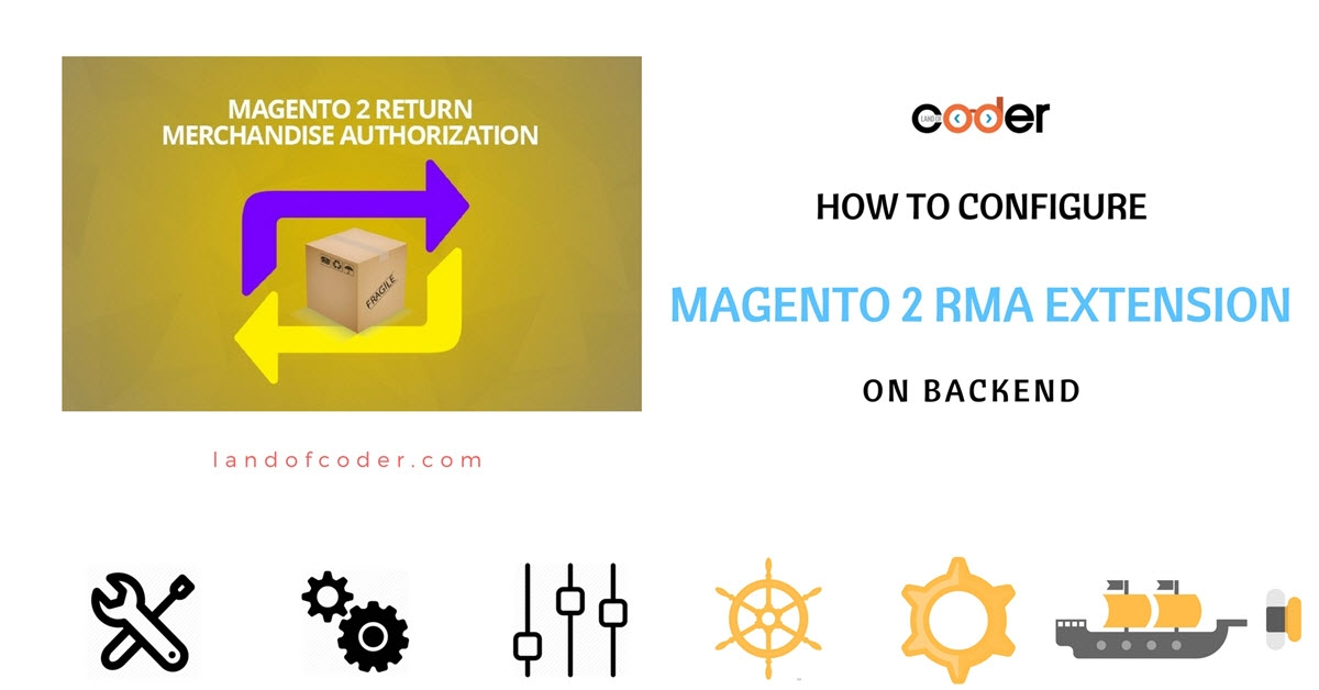 How to configure M2 RMA Extension on backend