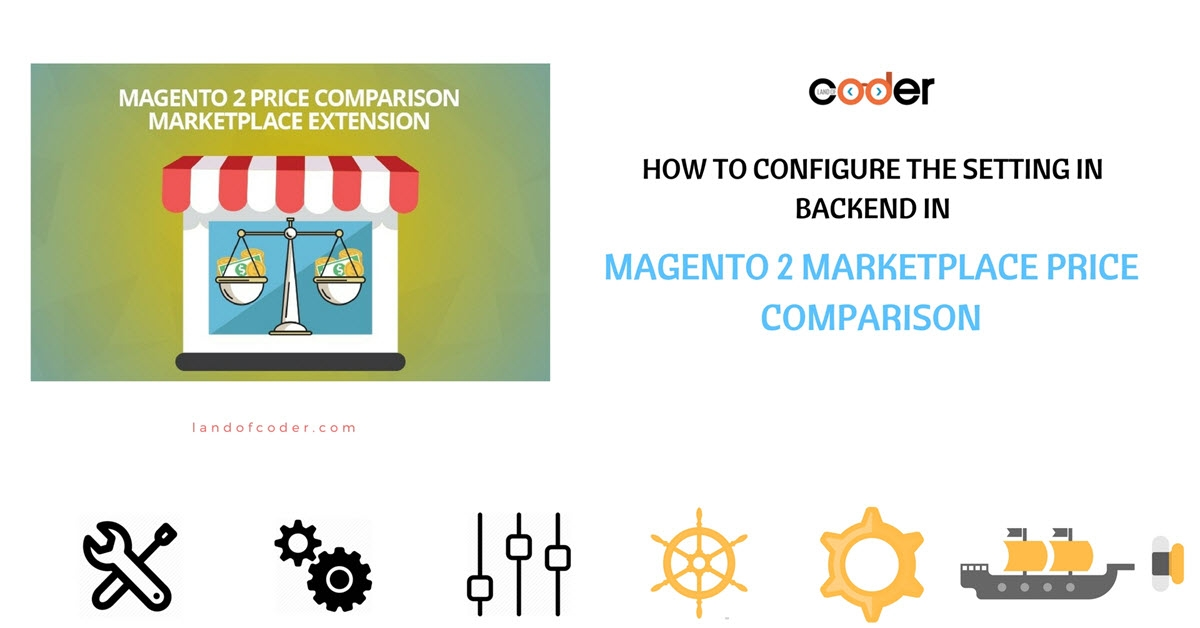 How to configure the setting in backend in M2 Marketplace Price Comparison