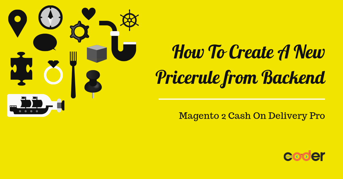 How to create a new pricerule in magento 2 cash on delivery backend