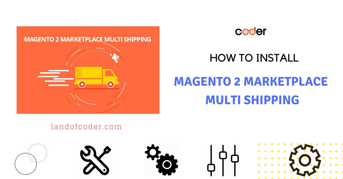 How to install Magento 2 Marketplace Multi Shipping