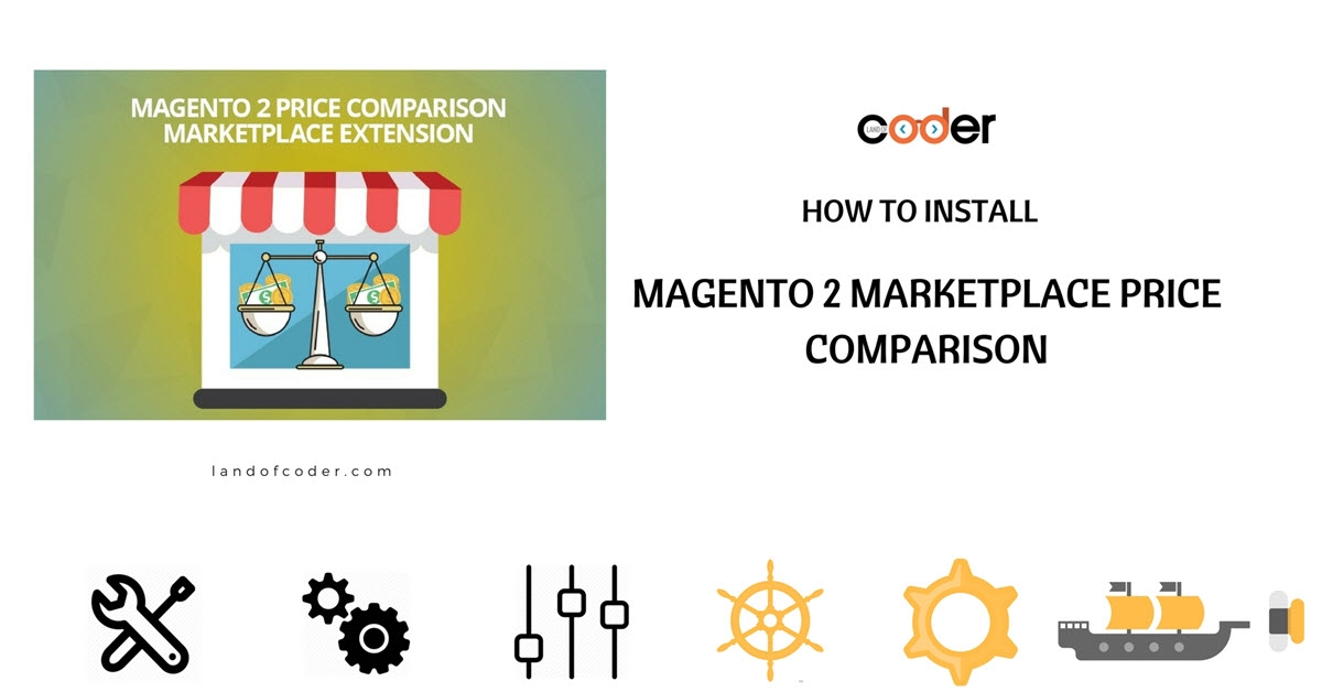 How to install magento 2 marketplace price comparison