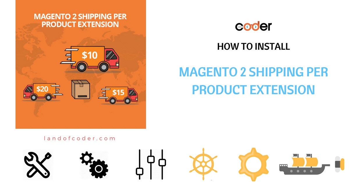 How to install magento 2 shipping per product extension