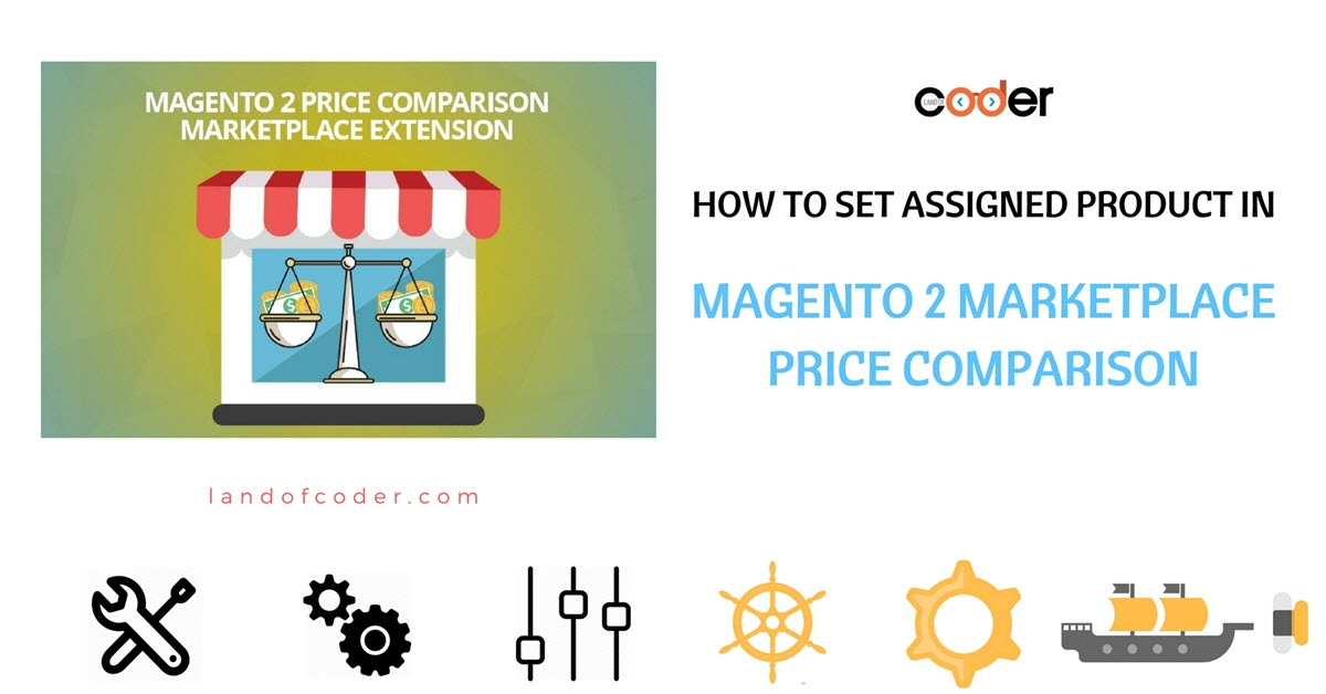 How to set assigned product In M2 Marketplace Price Comparison