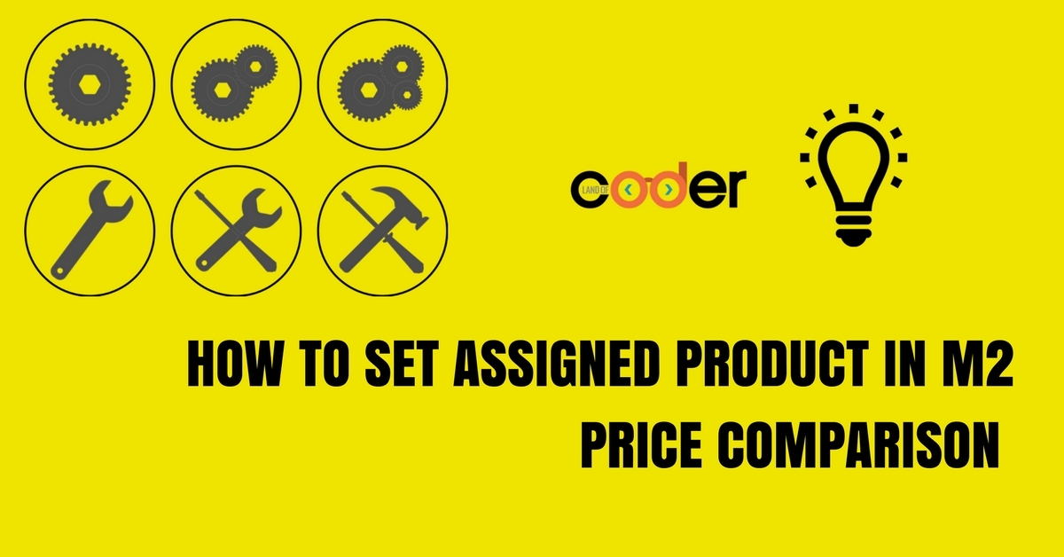 How to set assigned product in M2 Price Comparison