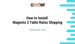 How To Set Up Table Rate Shipping