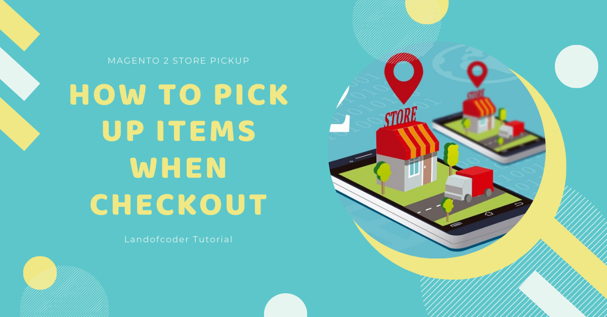 How to pick up items from stores when checkout