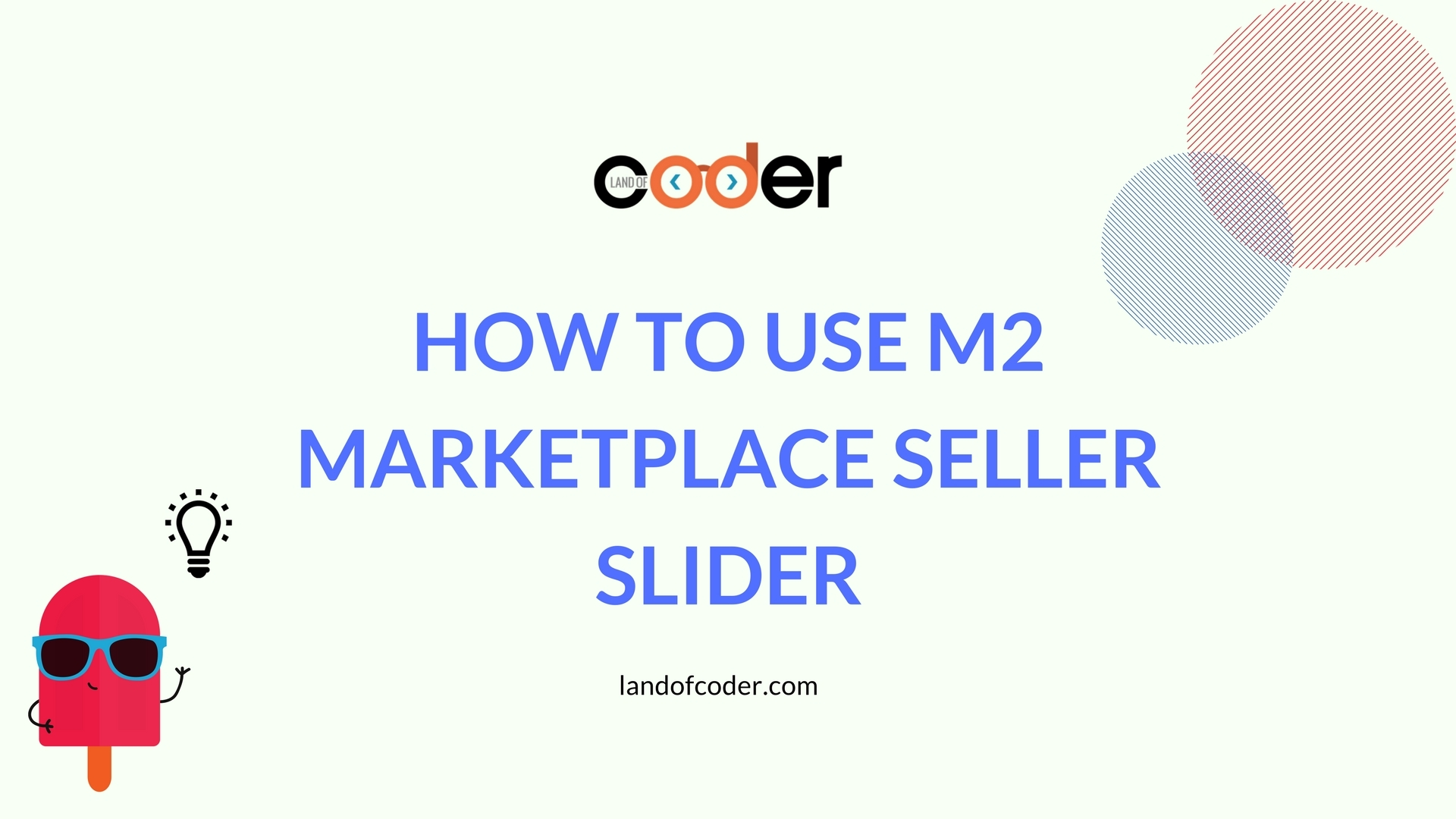 How to use magento 2 marketplace seller slider
